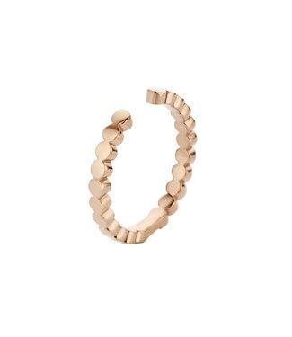 MELANO MELANO - Twisted Tina Ring rosegold