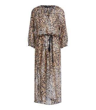 SET Cheetah print kaftan dress - 69246