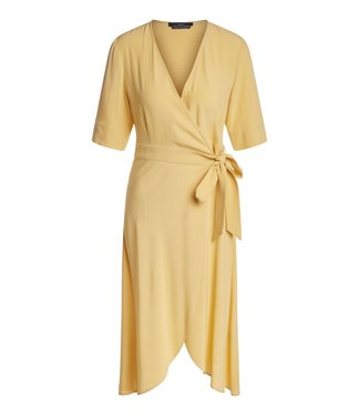 SET SET kledij - Kleedje Feminine wrap dress in crépe fabric