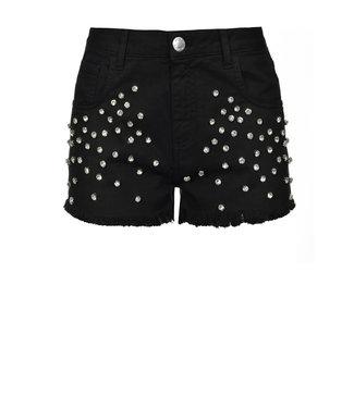 PINKO Shorts con strass muteking