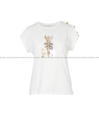PATRIZIA PEPE PATRIZIA PEPE kledij - T-shirt  8M1055A7K9J3EL