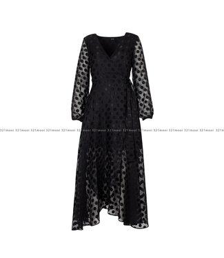 GUESS GUESS kledij - Kleedje BERTHA   Black A996 -  W0YK1AWD3C0