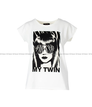 TWINSET MY TWIN TWINSET MY TWIN kledij - TWINSET MY TWIN T-shirt OFF WHITE - 202MP241A