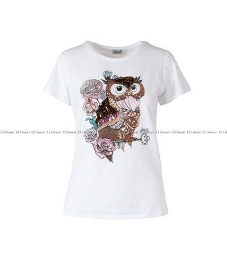 LIU JO LIU JO kledij - T-shirt LIUJO METEORITE  - WF0484-J5003