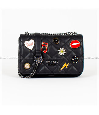 TWINSET MY TWIN TWINSET MY TWIN accessoires - TWINSET MY TWIN Handtas TRACOLLA - NERO - 202MO8062