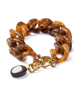 LAURENCE DELVALLEZ LD - 253 Myoshi bracelet camel