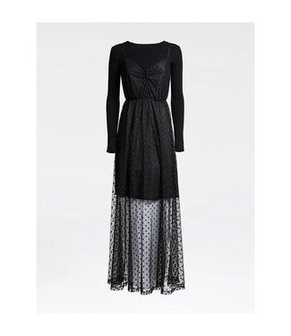 GUESS GUESS kledij - Kleedje SAADIA   Black A996 - W0BK63KA6I0