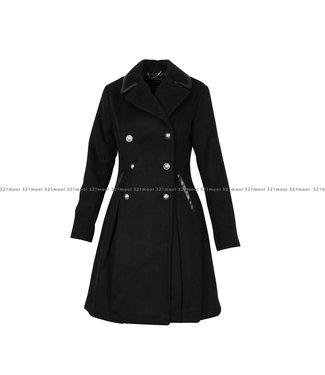 GUESS GUESS kledij - Jas ROSSANA COAT  Black A996 - W0BL0SWDBC0