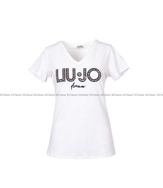 LIU JO LIU JO kledij - T-shirt LIUJO CASSITERITE  - WF0277-J5003