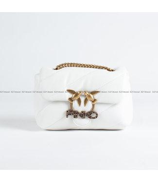 PINKO PINKO accessoires - handtas LOVE MINI PUFF JEWEL CL SHEEP  - 1P222X - Y6Y3 - Z14