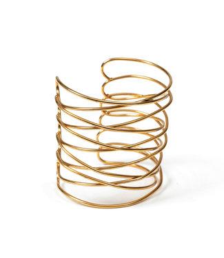 LAURENCE DELVALLEZ LAURENCE DELVALLEZ  - armband LD - 152 Sol Bracelet Gold