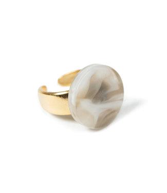 LAURENCE DELVALLEZ LD - 172 Cotton Ring Beige