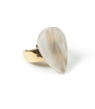 LAURENCE DELVALLEZ LD - 173 Tweed Ring Beige