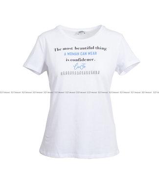 LIU JO LIU JO kledij - t-shirt PSERIMOU PLATI -WA1352-J5003 - 11111