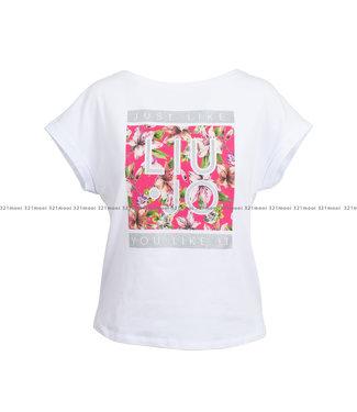 LIU JO LIU JO kledij - t-shirt POLEMIKA ALNISSOU -WA1382-J5003 - T9641