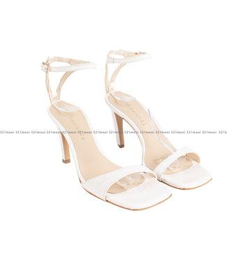MARCH23 MARCH23 schoenen - sandalen mid heel mule  - Olivia - Rosewater Croco