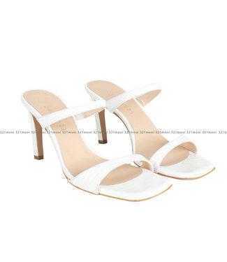MARCH23 MARCH23 schoenen - sandalen Aurore - Ivory Croco