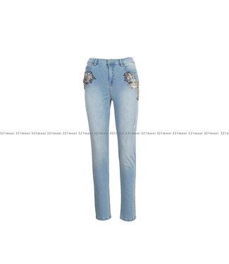 TWINSET ACTITUDE TWINSET ACTITUDE kledij - jeansbroek BOYFRIEND - 211MT2640-03498