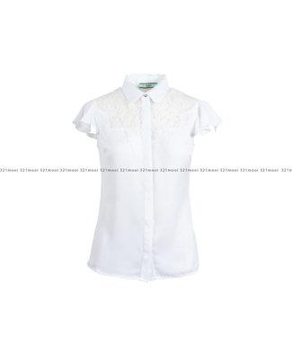 GUESS GUESS kledij - bloes SS RENATA  - W1RH85W5OC2 - TWHT