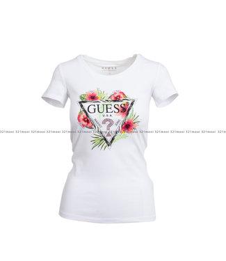 GUESS GUESS kledij - t-shirt SS CN REBECCA  - W1GI0NJ1311 - TWHT