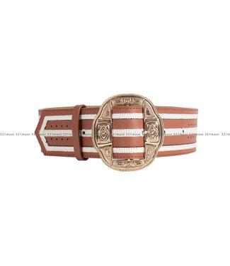 LIU JO LIU JO accessoires - riem DAISY STRIPES - UA1120-E0434 - 33