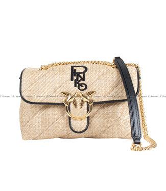 PINKO PINKO accessoires - handtas LOVE CLASSIC PUFF SOFT RAFIA 1 - 1P224P - Y6YN - C72