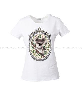 LIU JO LIU JO kledij - t-shirt PISTROS -WA1321-J5003 - T9584