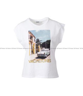 LIU JO LIU JO kledij - t-shirt PIGANOUSSA -WA1337-J5003 - T9642