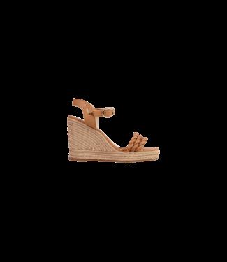 MARCH23 MARCH23 schoenen - sandalen Wedge sandal  - Sophia - Camel Leather