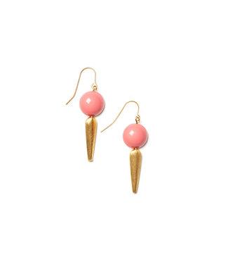 LAURENCE DELVALLEZ LD - 213 Sombra Earhook Pink
