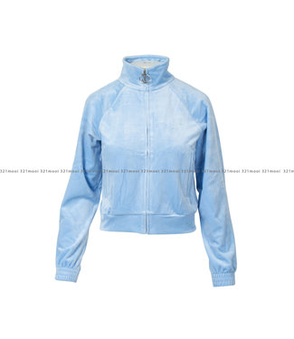 JUICY COUTURE Juicy Couture, track top & pants powder blue