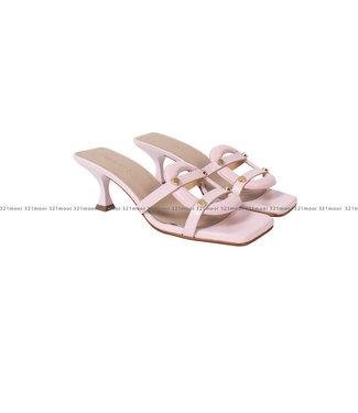 MARCH23 MARCH23 schoenen - sandalen mule mid heel  - Nyna - Rosewater Leather