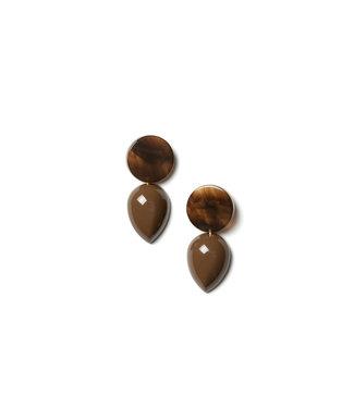 LAURENCE DELVALLEZ LD - 102 umber earpost brown
