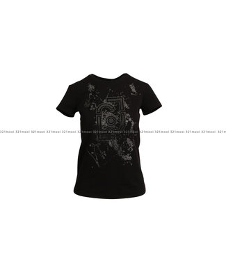LIU JO LIU JO t-shirt - JERSEY DI COTONE STRETCH - CF1301-J5003 - U9076