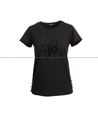 LIU JO LIU JO t-shirt - JERSEY CO/EA BUTTONS - TF1249-J5972 - 22222