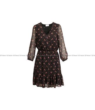 HEARTMIND HEARTMIND kleedje - B_DUNCAN - LITTLE BLACK FLOWER T