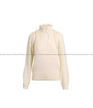 MARCH23 MARCH23 trui -  F_HARALD V - MOHAIR IVORY