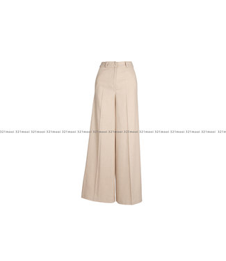 MARCH23 MARCH23 broek -  A_MABEL - VISCOSE/WOOL IVORY
