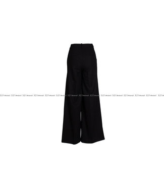 MARCH23 MARCH23 broek -  A_MABEL - VISCOSE/WOOL BLACK