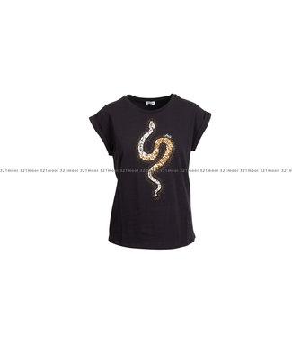 LIU JO LIU JO t-shirt - LIUJO SEQUINS HAT&SNAKE - WF1252-J5003 - S9187