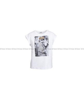 LIU JO LIU JO t-shirt - LIUJO SEQUINS HAT&SNAKE - WF1252-J5003 - S9186