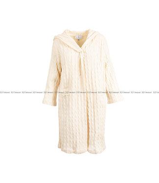 AC by Annelien Coorevits AC by Annelien Coorevits kledij cardigan ACGILET10001 - witte losse gilet crochet