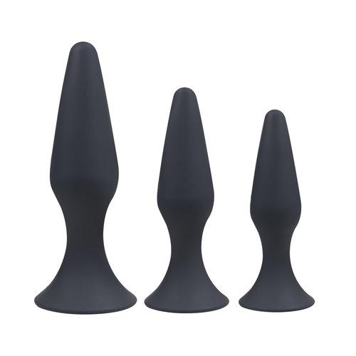 Blackdoor Collection Buttplug Set met Zuignap