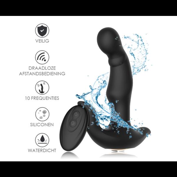 Easylove Roterende Prostaat Vibrator met Perineum Stimulatie Draadloos