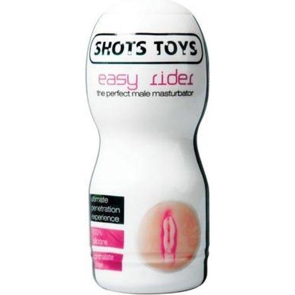 Shots Easy Rider Masturbator met Glijmiddel Vagina