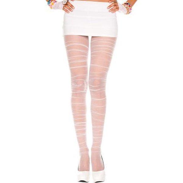 Music legs Geplooide Panty met Elegant en Stijlvol Afwerking