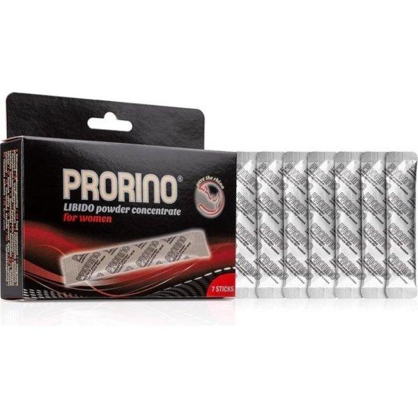 Prorino Prorino Libido Potentie Poeder voor Vrouwen 7 stuks