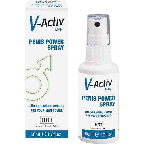 HOT Hot V-Activ Penis Power Spray Man 50 ML