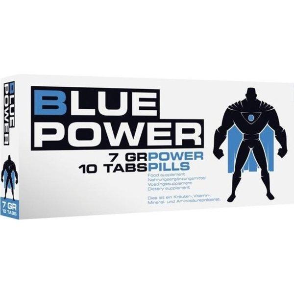 Shots Blue Power Stimulerende Tabletten voor Hoger Potentie Mannen 10 stuks