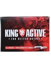 King Max King Active Stimulerende Natuurlijke Erectiepillen 2 stuks